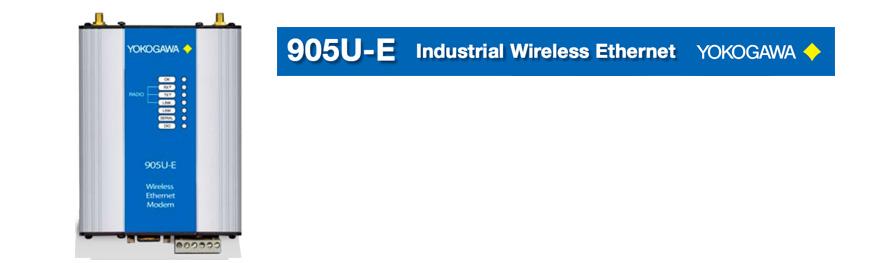 Wireless Connectivity – 905U-E Industrial Wireless Ethernet